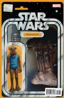 Star Wars #14 - Christopher Action Figure (Hammerhead) Variant Cover